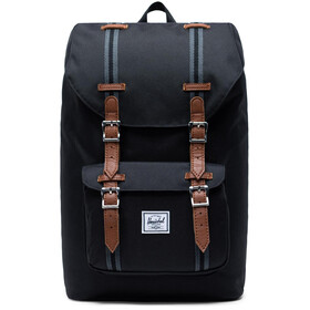 Herschel Little America Mid-Volume Zaino 17L, black/black/tan